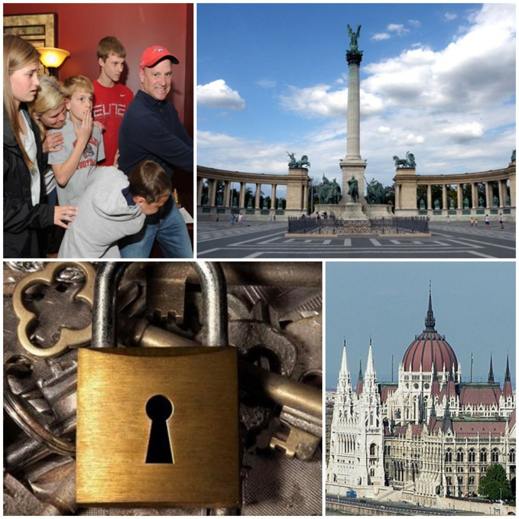 Private City Tour with Roomescape game